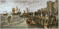 Pilgrim-Fathers-departure-of-Mayflower-from-Southampton